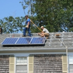 Solar power, solar panel installation